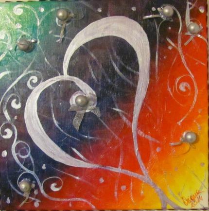 amore,arte, pittura, acrilico, olio, materico, cuore, vita, emozioni, original passion, oriana papais