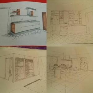 prospettiva, russia, mosca, disegni, interior designer, arredamento, mosca